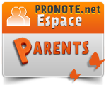 pronote parents d´élèves